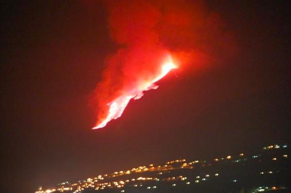 Erupción del Etna