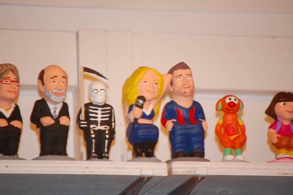 Caganers de Shakira y Piqué, de Rubalcaba o incluso Dora la Exploradora...