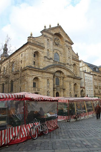 Catedral de Bamberg y el mercadillo de Navidad