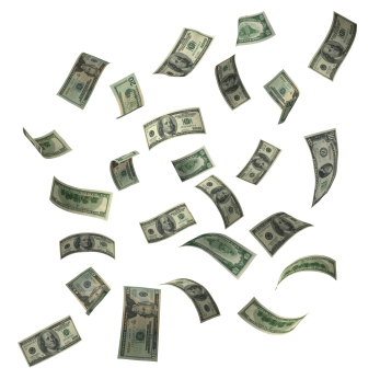 Como diría el Señor Cangrejo: ¡¡dinero, dinero, dineeeeroooo!!