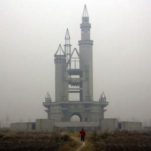 Castillo de Disneyland falso en China (@Reuters)