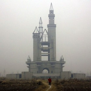 Castillo de Disneyland falso en China (@Reuters)