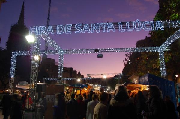 Fira de Santa Llúcia 2011 Barcelona