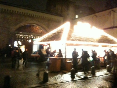 Mercadillo de Navidad de Sendlinger Tor de Munich