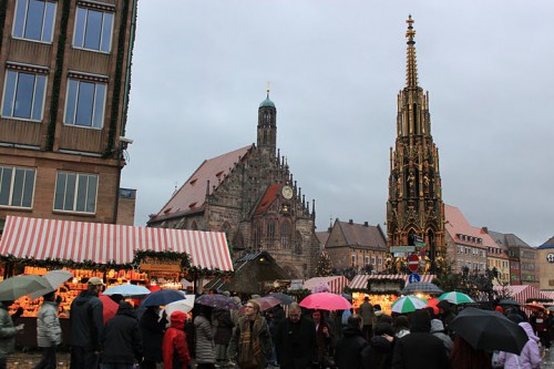 Mercado de Navidad de Nuremberg en Alemania