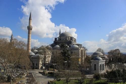 Mezquita azul de Istanbul en Turquía