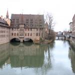 Nüremberg desde uno de sus puentes