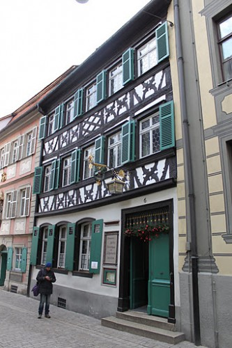 Restaurante Schlenkerla de Bamberg en Alemania
