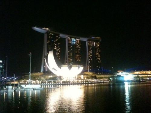 El espectacular hotel Marina Sand Bay de Singapur
