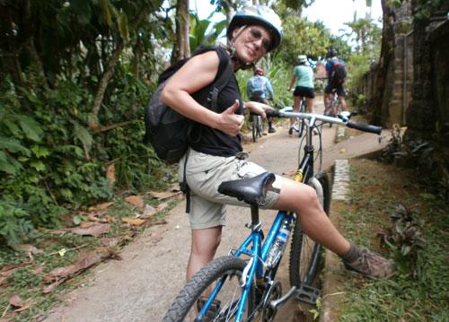 Ruta en bici por el interior de Bali