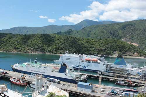 Ferrys para cruzar entre las islas Norte y Sur @3viajes