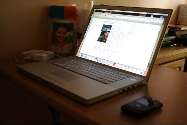 Blogging station