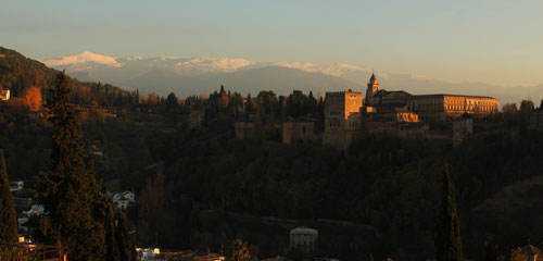 Alhambra desde el Albaicín