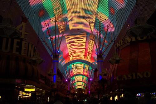La Fremont Experience de Las Vegas (@Wikipedia)