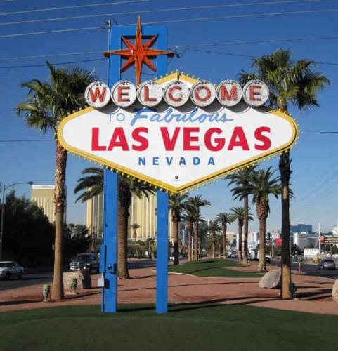 Señal Welcome to Las Vegas del Strip de Las Vegas