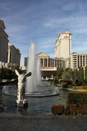 El Caesar Palace de Las Vegas