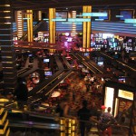 Casino del Planet Hollywood de Las Vegas a las 10 de la mañana