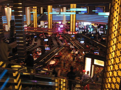 Casino del Planet Hollywood de Las Vegas a las 10 de la mañana