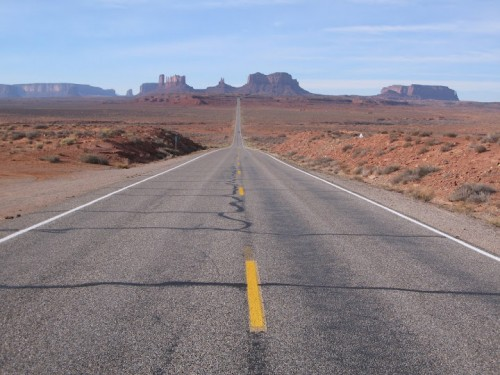 Forrest Gump point en Monument Valley