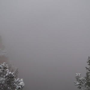 El Gran Canyon en invierno