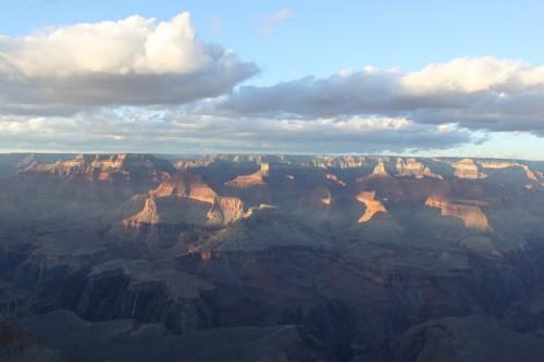 Puesta de sol en el Grand Canyon