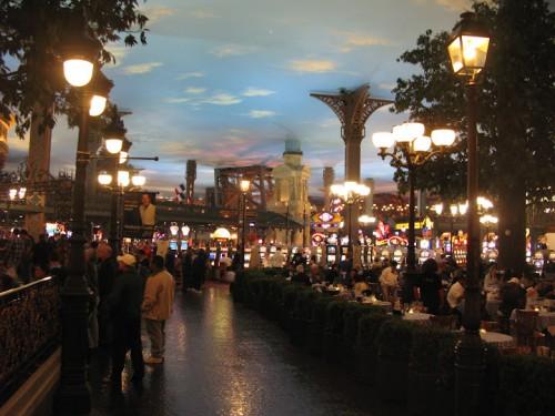 Interior del Hotel Paris de Las Vegas