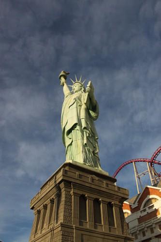 Estatua de la libertad del NewYork NewYork de Las Vegas