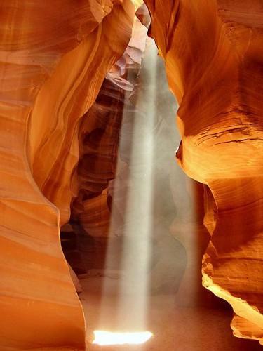 Antelope Canyon en verano @wikipedia