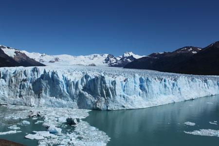 Frente del Glaciar Perito Moreno