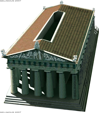 Reconstrucción del Templo de la Victoria de Hímera