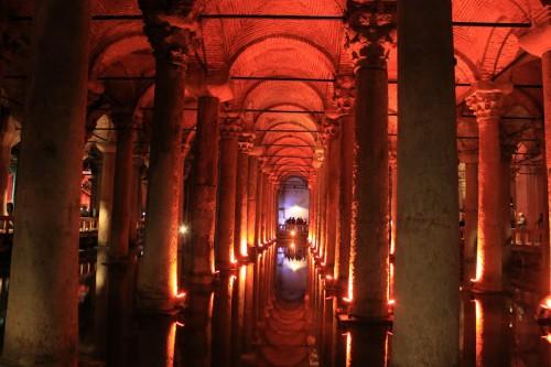 Basílica de la cisterna de Estambul