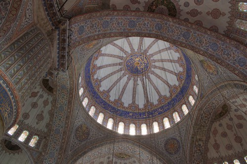 Cúpula de la Mezquita Azul de Estambul