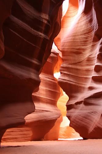Curvas de Antelope Canyon