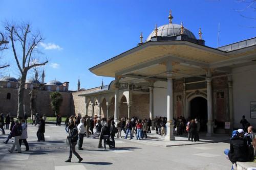 Entrada del Palacio Topkapi de Estambul