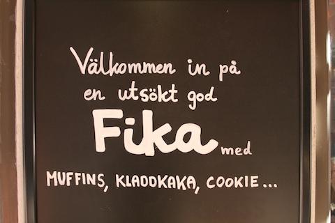 fika en sueco
