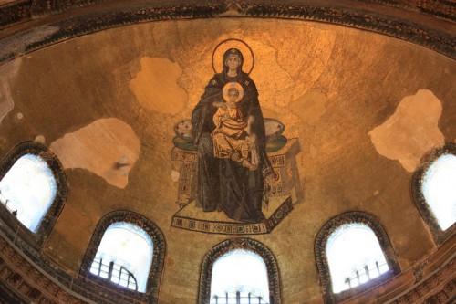 Fresco de Santa Sofía de Estambul
