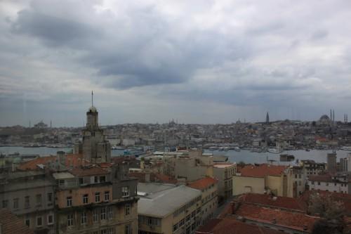 Vistas desde la Torre de Galatea de Estambul