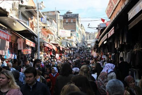 El zoco de Estambul