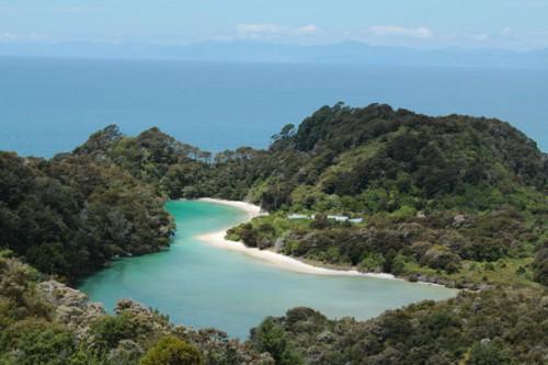 Bahía en Abel Tasman @3viajes