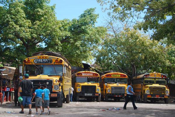 Estación de bus de Granada @MónicaHernández