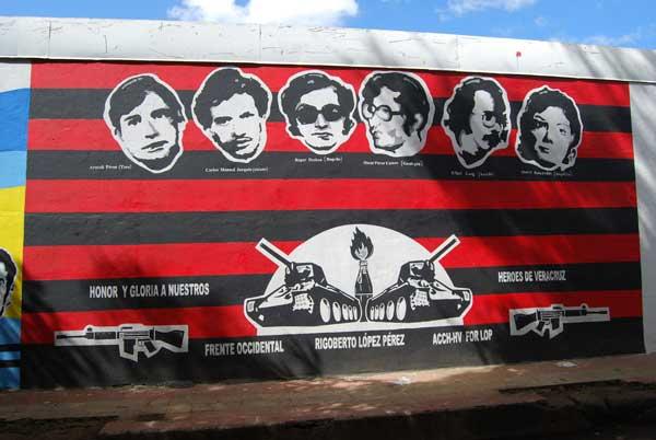 Mural del museo de la Revolución @MónicaHernández