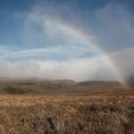 Hacia el inicio del trekking en Tongariro @3viajes