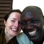 Con Alfred, el conductor de la misión de Bebetjia en Chad @3viajes