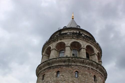 La Torre de Galatea desde el Hotel Anemon en Estambul