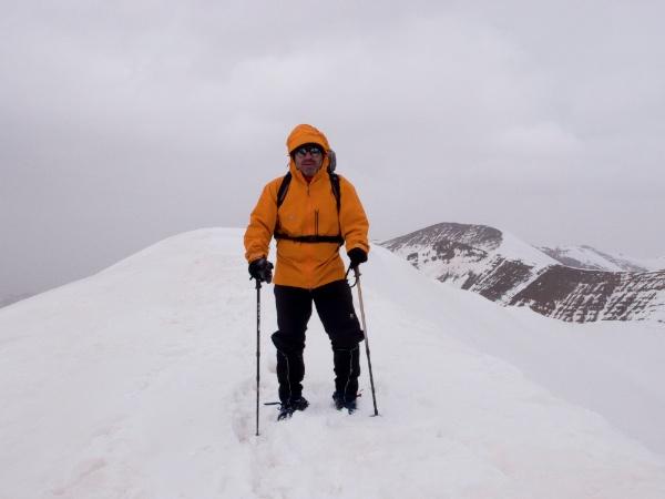En la cumbre del M'Goun (Marruecos)
