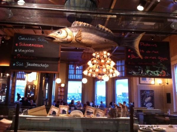 Restaurante del hotel New York, en Rotterdam
