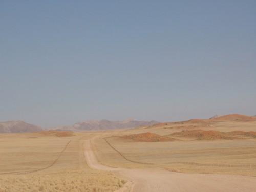 Carretera a Solitaire en Namibia