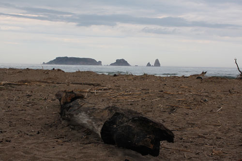 Desembocadura 'La Gola' frente a las islas Medes