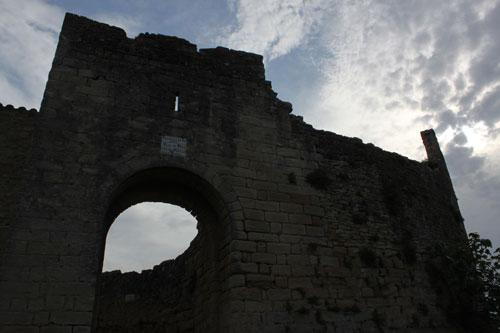 Entrada a la muralla de Peratallada