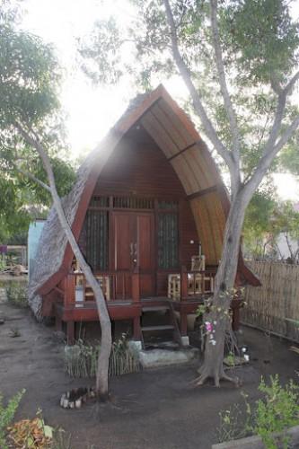 Nuestra cabaña en Gili